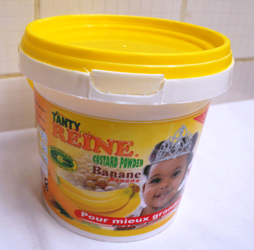 CUSTARD POWDER banane